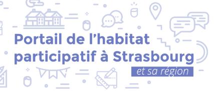 Le portail de l'habitat participatif à Strasbourg et sa région - Logo