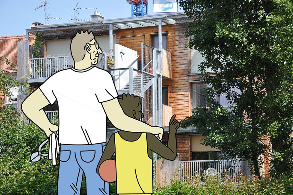 Urban'Hotes, le témoignage de Stephan - témoignage habitat participatif à Strasbourg